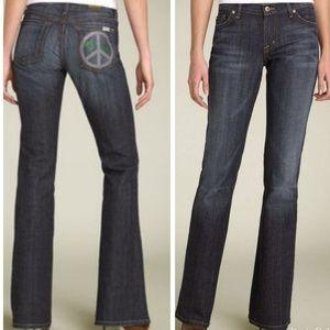 "David Kahn ""Nikki Peace Pocket"" Bootcut Jeans"